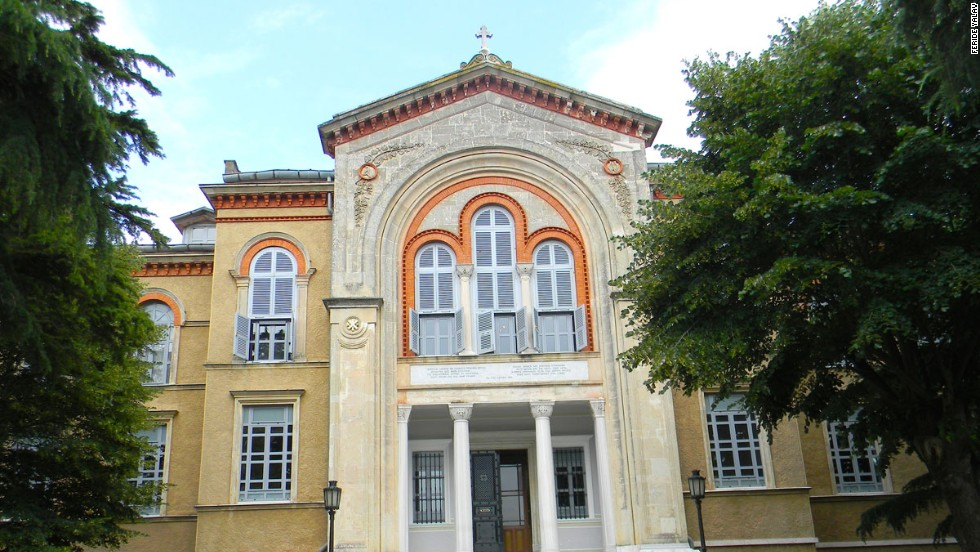 Ruhban Okulu, on Heybeliada island, was once a theology school run by the formidably-named Eastern Orthodox Church's Ecumenical Patriarchate of Constantinople.