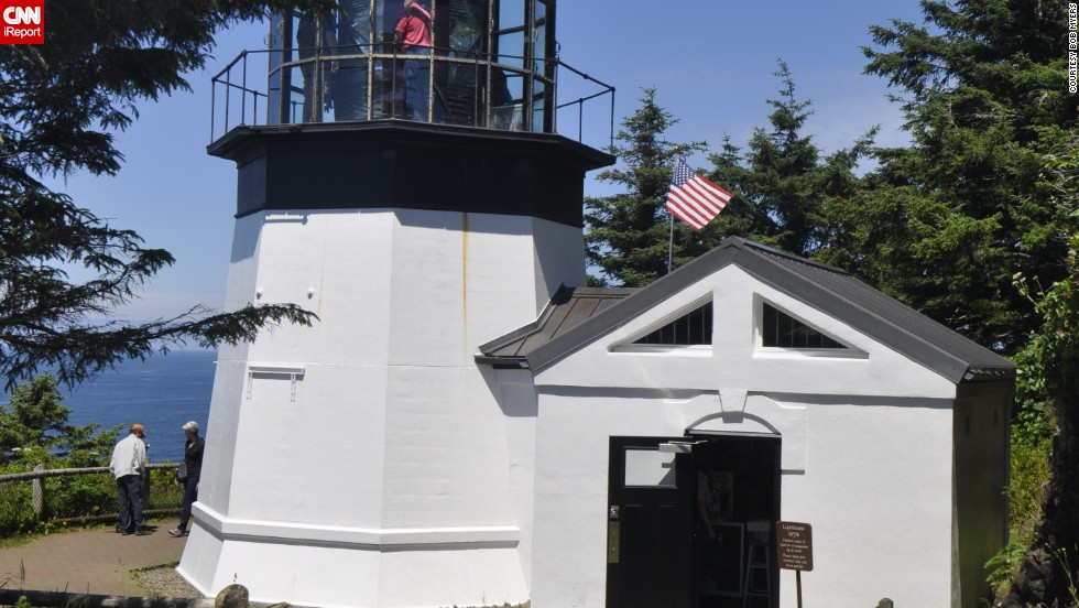 "<a href=""http://ireport.cnn.com/docs/DOC-1159168"">Bob Myers l</a>ives in California, but visits Oregon's inactive Cape Meares Light once a year. ""This was the very first lighthouse I had a chance to see up close,"" he said. ""A bit like my first love?"""