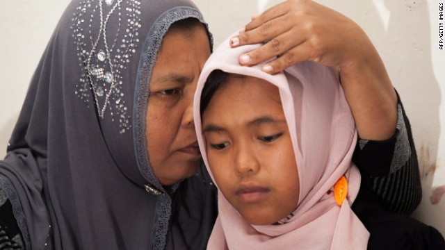 An Indonesian mother and her daughter are reunited ten years after the than four-year-old girl was swept out to sea by a tsunami in 2004.
