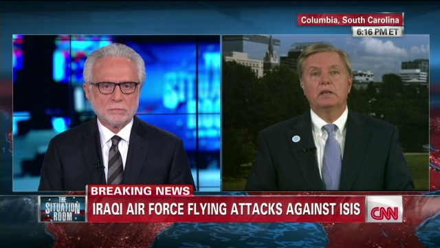 Sen. Graham: Time is now to act in Iraq