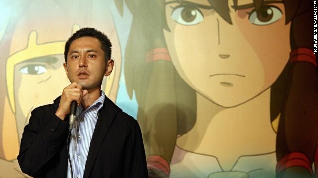 File: Studio Ghibli director Goro Miyazaki is the son of Hayao Miyazaki.