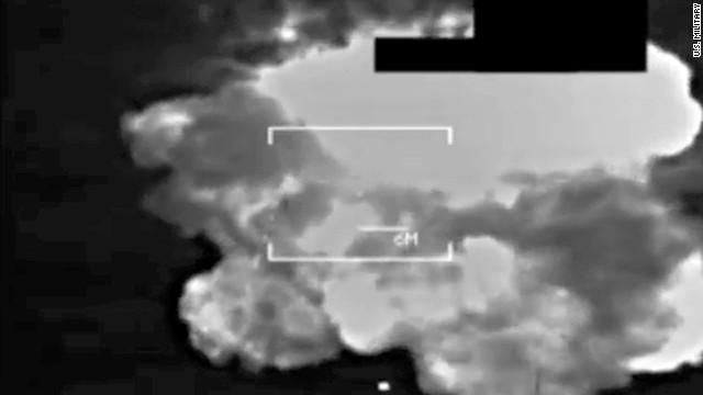 U.S. airstrikes target ISIS in Sinjar