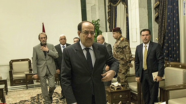 President tries to push out al-Maliki