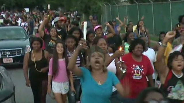 Teen shooting in Missouri sparks riots