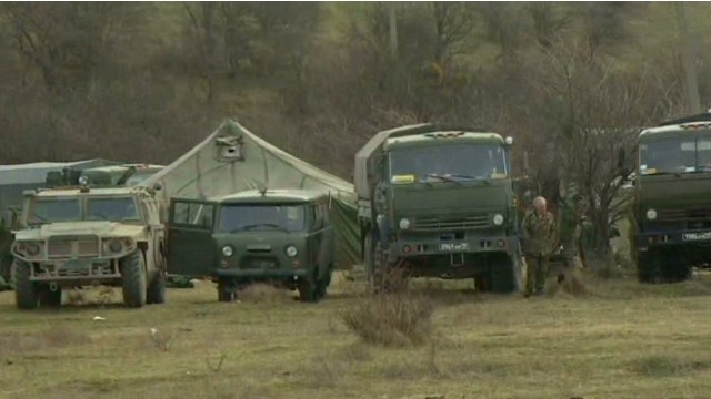 Kiev: Russian convoy an 'invasion'