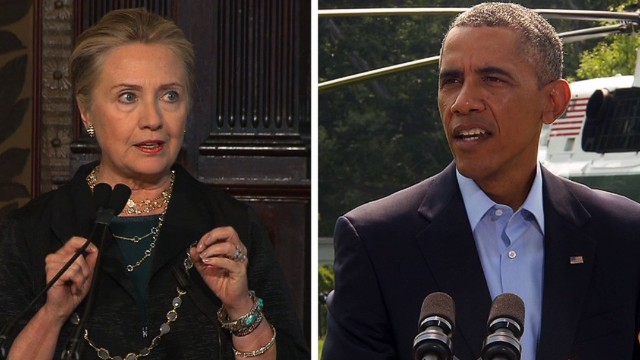 Hillary slams Obama's foreign policy