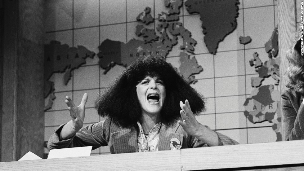 "Another original ""Saturday Night Live"" cast member, Gilda Radner, gave us the gift of characters like Roseanne Roseannadanna and her unforgettable spin on Barbara Walters, Baba Wawa. For anyone who thought comedy was a boy's game, Radner was there to prove them wrong, hanging in league with co-stars like John Belushi. Radner was poised to shine on film, with movies like 1982's ""Hanky Panky,"" but she was diagnosed with ovarian cancer in 1986, and passed away three years later at the age of 42."