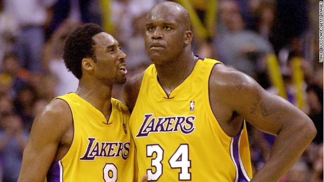 They captured three consecutive NBA titles. They captured L.A.'s heart. Well, one of them did.