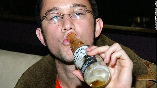 No Coronas, please. Unless you're Joseph Gordon-Levitt. Even then ...