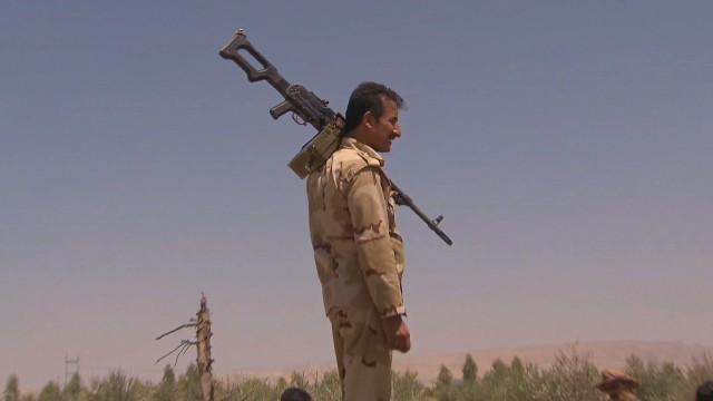 U.S. airstrikes help Kurds recapture town