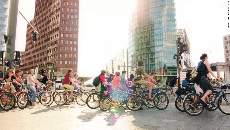 Given the city's long, freezing winters, Berlin is an impressive example of Germany's boost of bike use. About 13% of all trips in the city are made by bike, nearly twice the rate of 20 years ago.