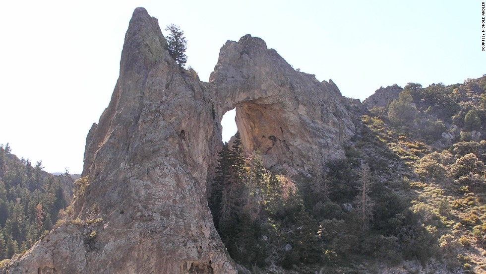 "There's evidence to suggest that <a href=""http://www.nps.gov/grba/planyourvisit/lexington-arch.htm"" target=""_blank"">Lexington Arch</a> in Great Basin National Park in Nevada<a href=""http://www.nps.gov/grba/planyourvisit/lexington-arch.htm"" target=""_blank""> </a>may actually be a bridge. Arches formed by streams and other water sources are bridges."