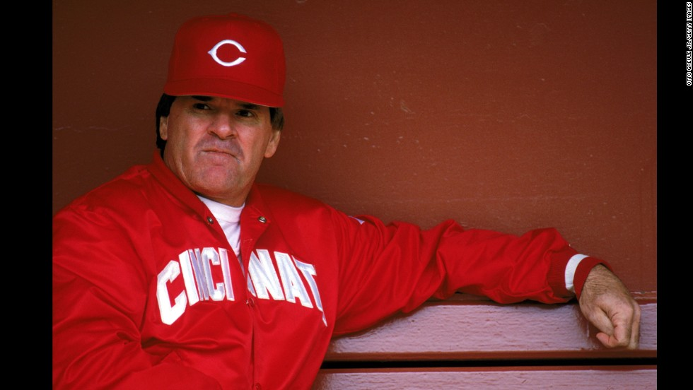 His 4,256 hits were not enough to keep Pete Rose from agreeing to expulsion from Major League Baseball for life after evidence surfaced showing Rose bet not only on baseball games but also on the Reds team he managed.  Although Rose could apply for reinstatement after 1989, the ban's first year, he is still in exile 25 years later.