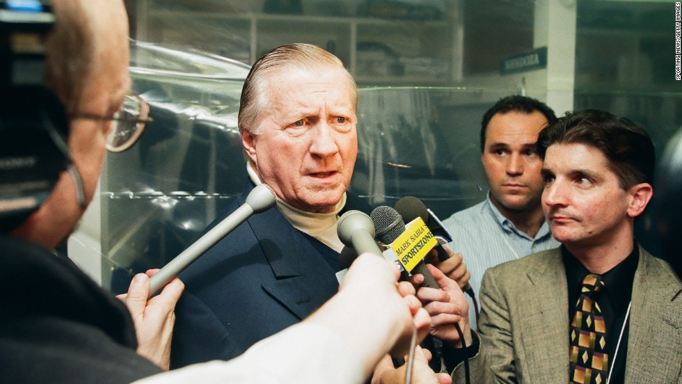 "Larger-than-life Yankees owner George Steinbrenner was no stranger to suspensions.  After serving a 15-month banishment in 1974, he was called out for life in 1990 for ""associating with a gambler"" whom he payed $40,000 for potentially damaging personal information about one of his players.  Baseball commuted Steinbrenner's punishment two years later, and he returned to his role as ""the most hated man in baseball."""