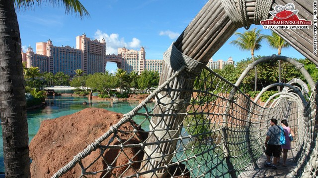Atlantis Paradise Island: For those who can't choose between beaches and fun parks.