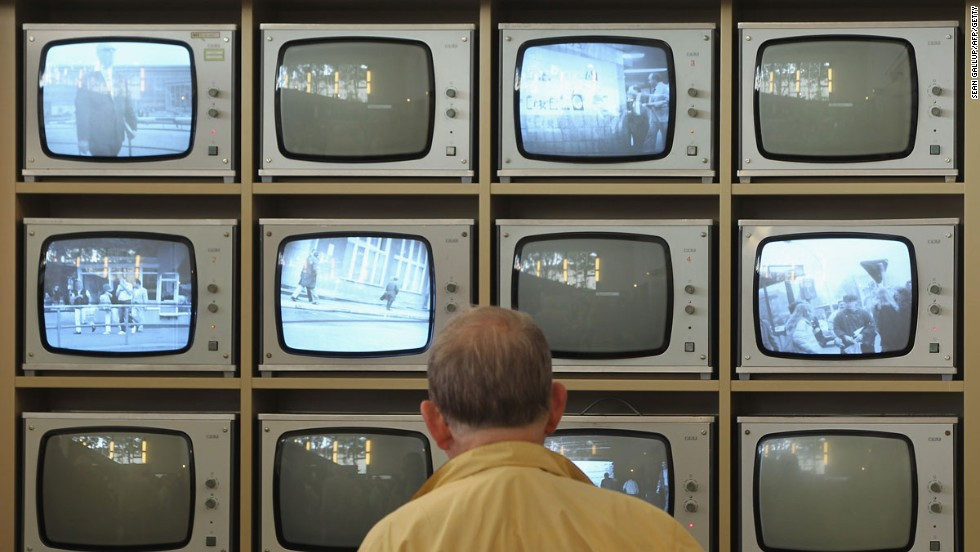 """The <a href=""""http://www.hdg.de/berlin/ """" target=""""_blank"""">Tranenpalast</a>, or Palace of Tears, was once the official crossing point for West Germans visiting relatives in the East. It's now a museum with displays that include banks of televisions used for surveillance."""