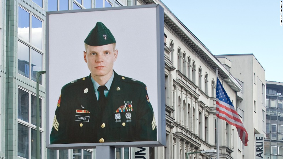 """Checkpoint Charlie may be a tourist magnet today, but the most famous crossing point between East and West Berlin still evokes the noir intrigue of John Le Carre's """"The Spy who Came in from the Cold."""""""