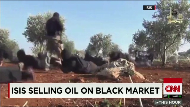 ISIS selling oil on black market