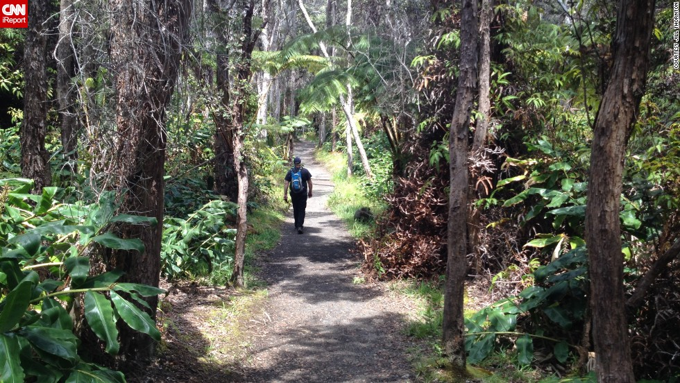 "The sprawling trails of <a href=""http://ireport.cnn.com/docs/DOC-1122262"">Hawaii Volcanoes National Park</a> will lead visitors to some of the island's most diverse ecosystems, filled with <a href=""http://www.nps.gov/havo/naturescience/index.htm"" target=""_blank"">native terrestrial flora</a> and fauna."