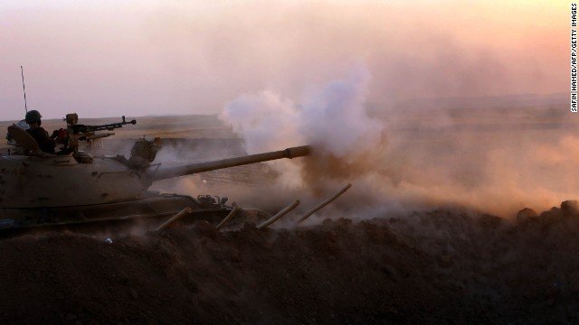 U.S. and ISIS battle rages on