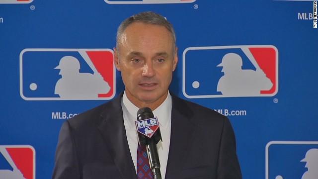 Rob Manfred named new MLB Commissioner