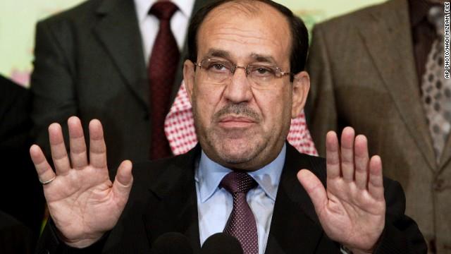 Nuri al-Maliki withdraws his candidacy