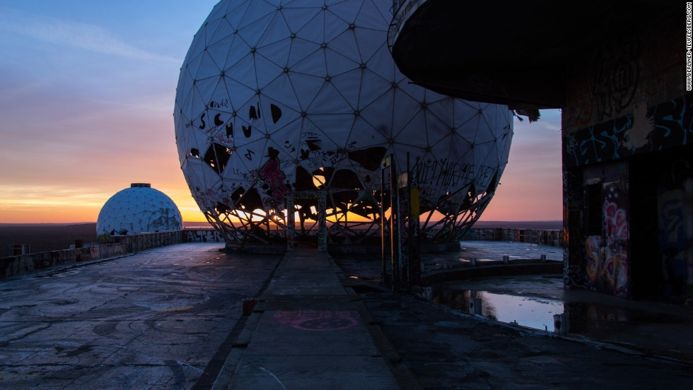 Once a secret military enclave, the Teufelsberg, or Devil's Mountain, a U.S. radar station and listening post, was staffed by 1,000 spies throughout the Cold War. Now it's been overrun by graffiti artists.
