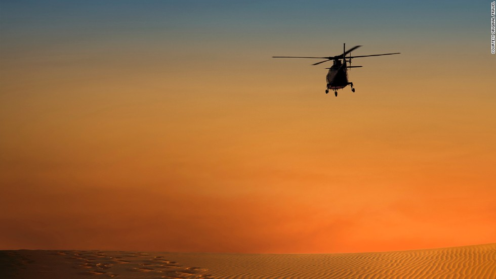 <strong>Saharan heli-desert trip (Morocco)</strong>: A helicopter ride over Morocco's sandy expanse is a far more relaxed way to see the dunes than bumping along on a camel.
