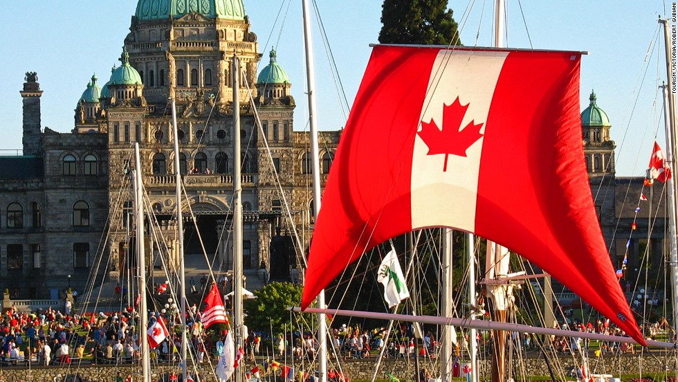A friendly Canadian city? No chance. Just kidding, Victoria. What's more surprising is that the entire Conde Nast Traveler friendly cities list doesn't consist of Canuck destinations.