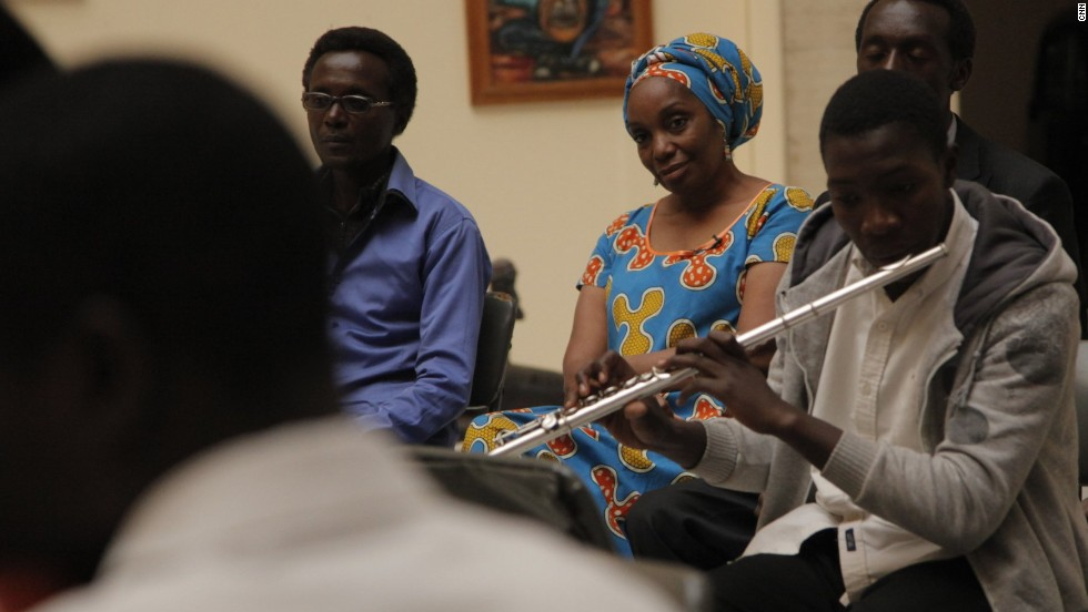 Another achievement on her list of many accomplishments is the Lusaka Youth Orchestra which Kapwepwe founded to provide teens with a place to embrace music.
