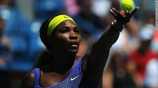 Serena Williams is looking to serve up the first Cincinnati Masters title of her illustrious career.