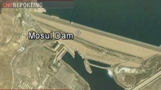 U.S. airstrikes hit ISIS near Mosul Dam