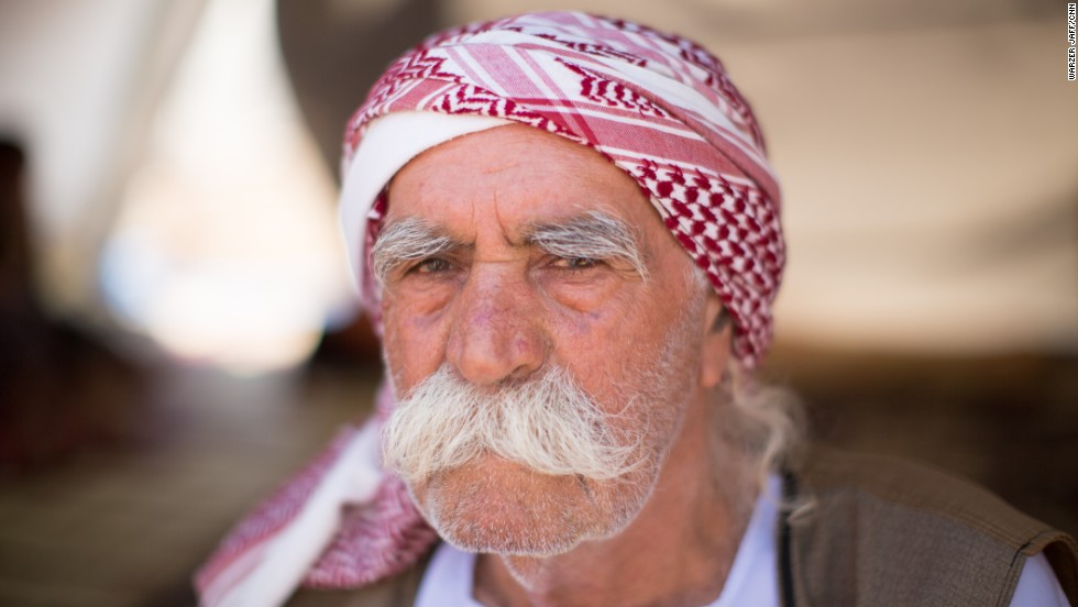 """I don't want to live with Arabs anymore. They take our land, they kidnap our woman. And they kill us, why should I live with them?"" asked a 75-year-old Yazidi named Ali Khalid."