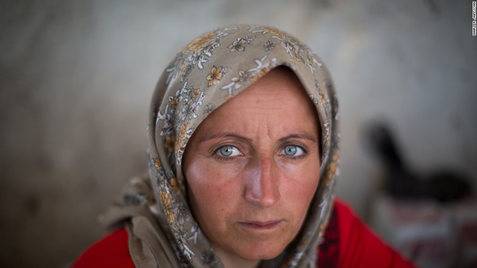 Yazidi People 9 photos Yazidi refugees