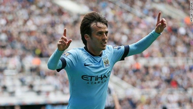 Spanish international David Silva scored the opening goal in a 2-0 victory.