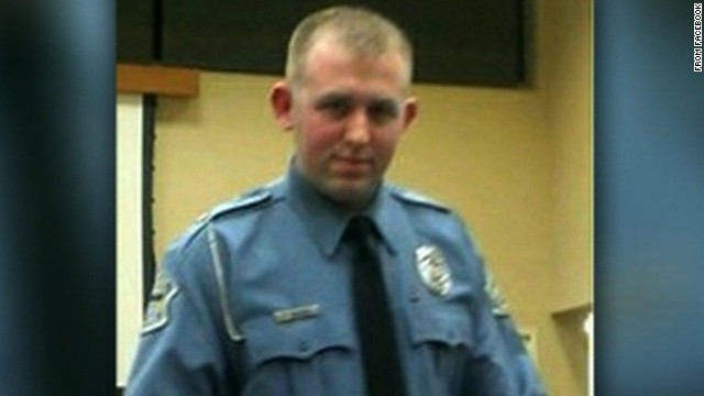 Darren Wilson, 28, has been a police officer for six years.