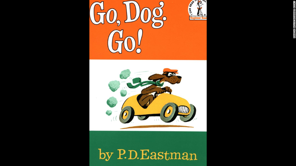 """Go, Dog, Go!"" by P.D. Eastman. ""I still want the houseboat the dogs jump into the water from!!"" — Julie McQueen"