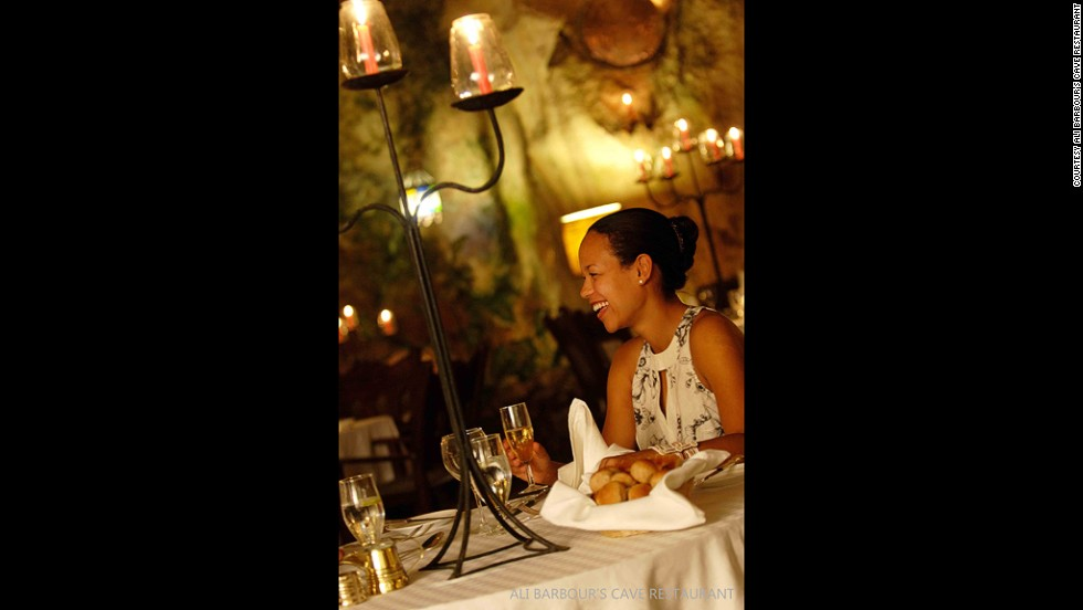 Located some 30 kilometers south of Mombasa, the ancient cave is thought to be between 120,000 and 180,000 years old. The restaurant's menu includes both seafood and meat options, as well as vegeterian dishes.