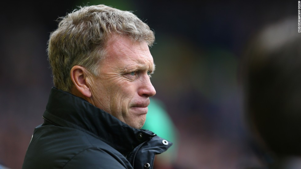 David Moyes lost his job at Manchester United after a sorry season which saw them finish outside the Champions League places and fail to lift a trophy aside from the FA Community Shield.