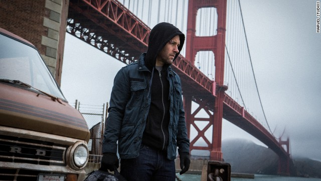 "Paul Rudd stars in ""Ant-Man,"" which just started filming."