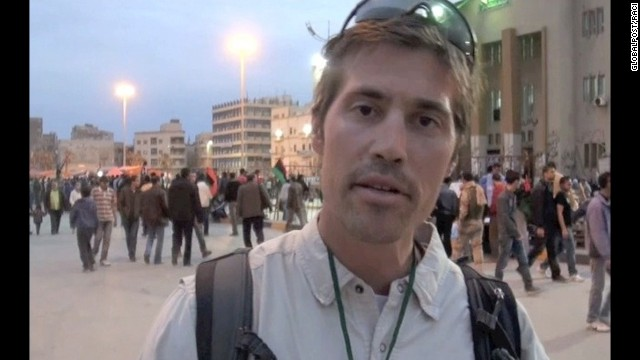 James Foley 'smuggled' letters to family