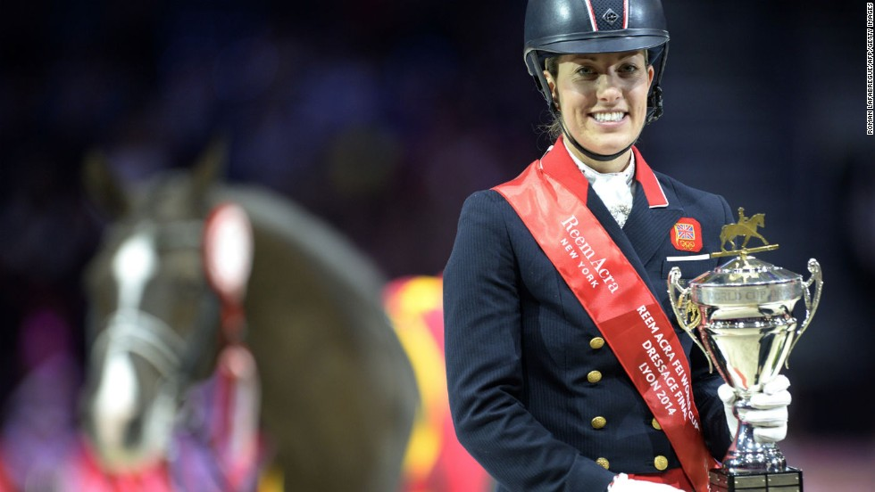 Double Olympic champion Charlotte Dujardin and her horse Valegro are widely regarded as the best dressage partnership in the world -- but must overcome a recent blip in form.