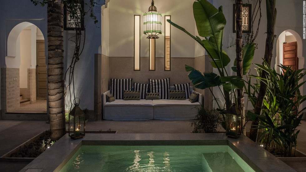 Morocco 39 s riad hotels private palaces for travelers for Hotel design marrakech