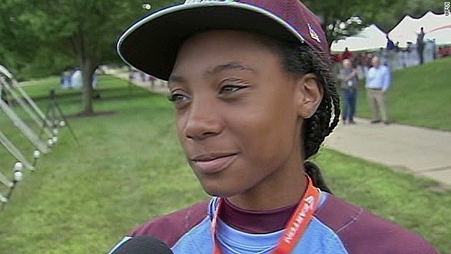 Mo'ne Davis: Female baseball sensation