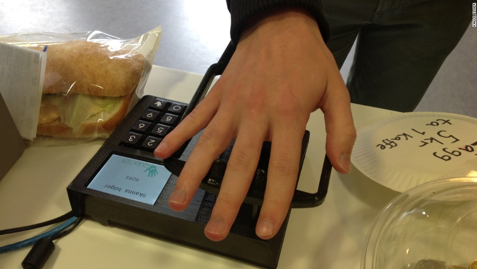 Developed in Sweden, Quixter is a biometric system that allows consumers to make transactions in just a few seconds. It determines a user's ID by reading the vein patterns in their palm -- all consumers need to do is to hold their hand over the device after entering the last four digits of their phone number.