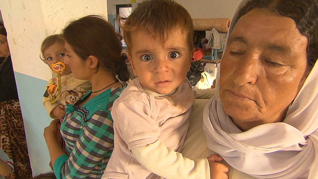 Yazidi refugees desperate for help