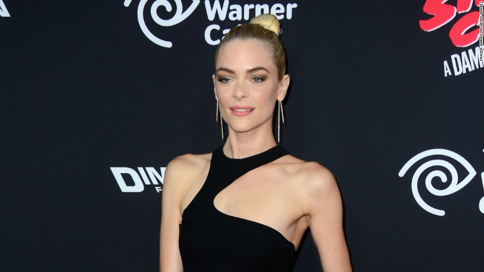 "Jaime King attends the premiere of ""Sin City: A Dame To Kill For"" on August 19 in Hollywood, California."