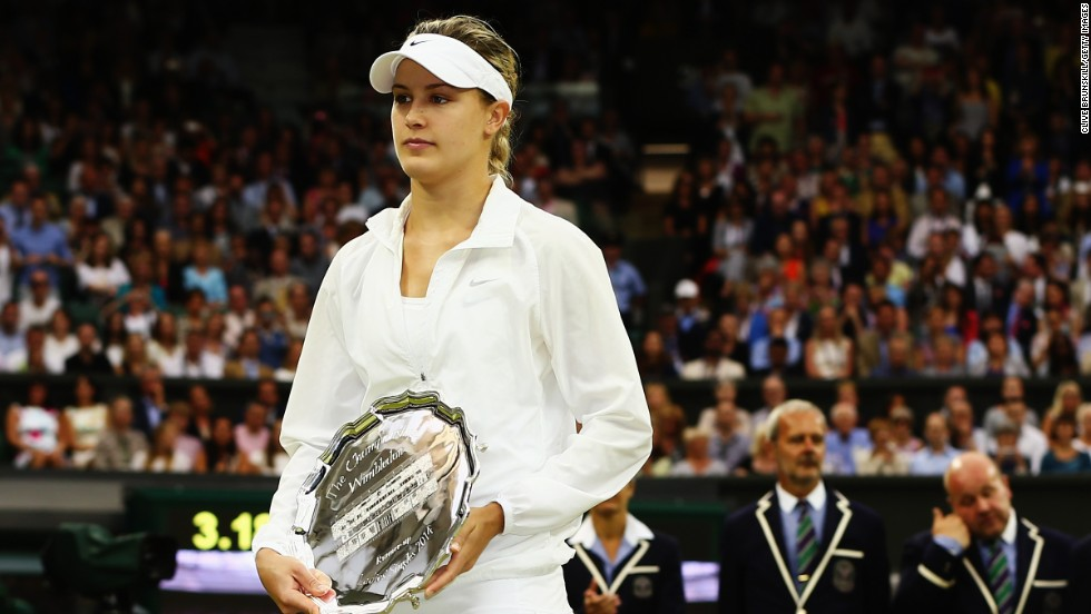 The 20-year-old Bouchard became the first Canadian woman to reach a grand slam singles final when she achieved the feat at Wimbledon earlier this year. She was swept aside by Czech Republic's Petra Kvitova, who claimed the title for the second time in her career.