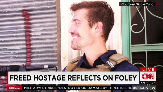 Freed hostage reflects on Foley