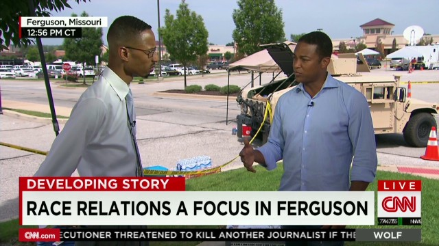 Race relations a focus in ferguson